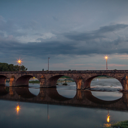 Bridge over the river Loire