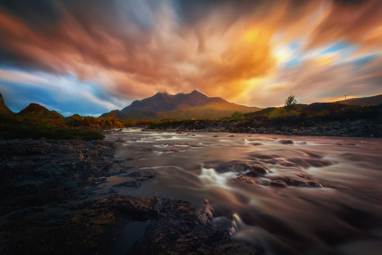 Skye on Fire
