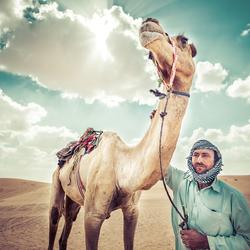 Woestijn Dubai