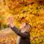 vang de herfst