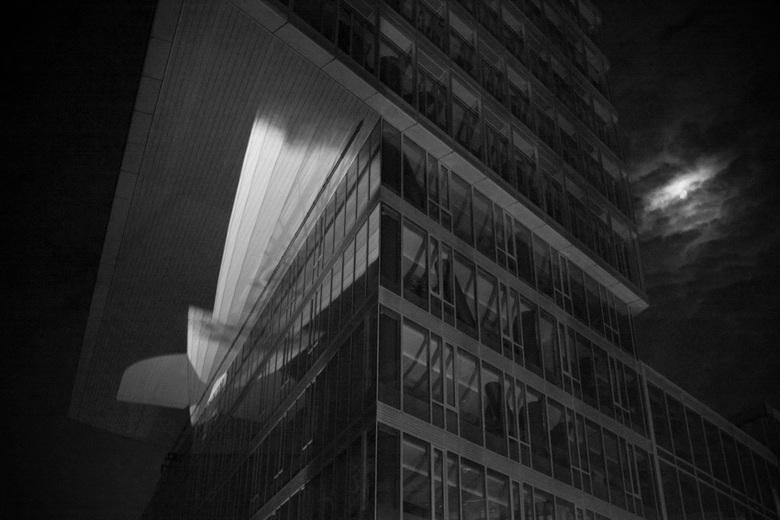 magic zeppelin - projectie tijdens glow eindhoven
