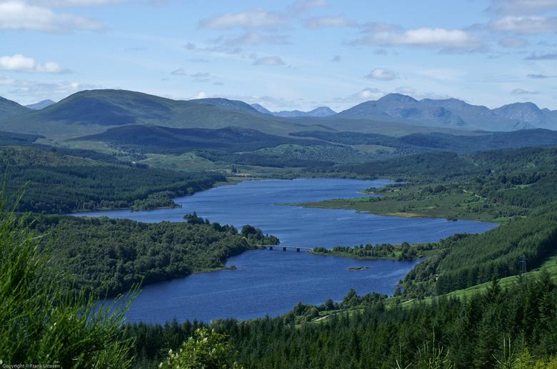 Schotland - Een van de vele mooie vergezichten in Schotland.<br /> Voor wie er nog niet geweest is: een echte aanrader.<br /> <br />