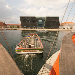 Kopenhagen - Cirkelbroen en Det Kongelige Bibliotek