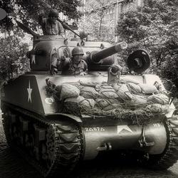 Sherman Tank Brussels
