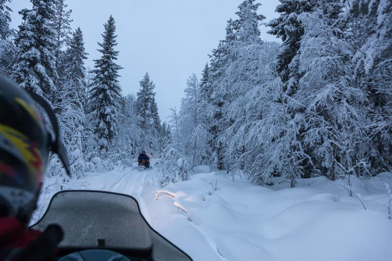 Sneeuwscooter -