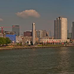 Boompjes Rotterdam panorama