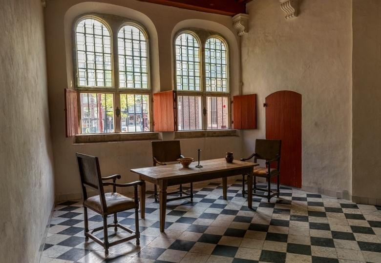 HDR Oude Kerk in Amsterdam - HDR gemaakt in de Oude kerk in Amsterdam
