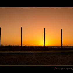 Sunset at Makkum