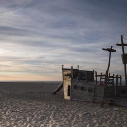 speeltuintje op het strand van de Roompot Zeeland