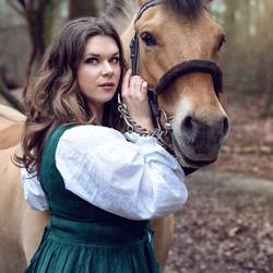 Janne met paard