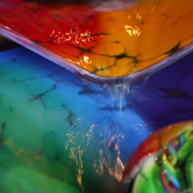 Kleurrijk - Ik zoek het nog even in de kleurtjes. Nu wat abstracter.
