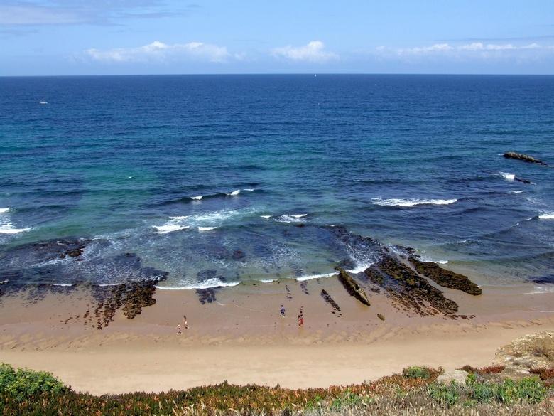 Zeezicht - Aan de mooie kust van Portugal gemaakt.