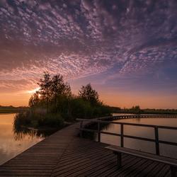 heerlijke zonsondergang