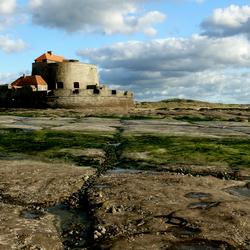 fort vauban aan de noord-franse côte d'opale