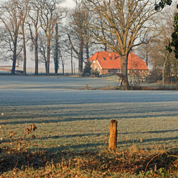 Winterlandschap Twente