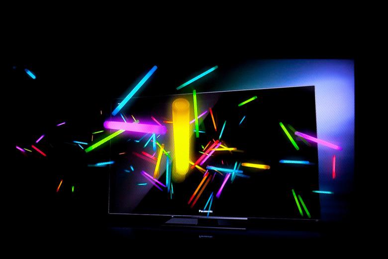 3d fotograferen - Aan het spelen met camera voor tv en foto van een reclame gemaakt en 3d kwam naar voren...