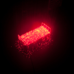 laserbed- glow 2010