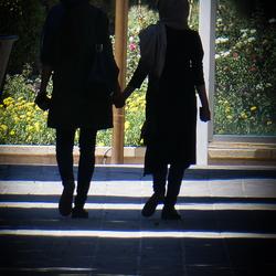 Vriendschap tussen vrouwen in Iran