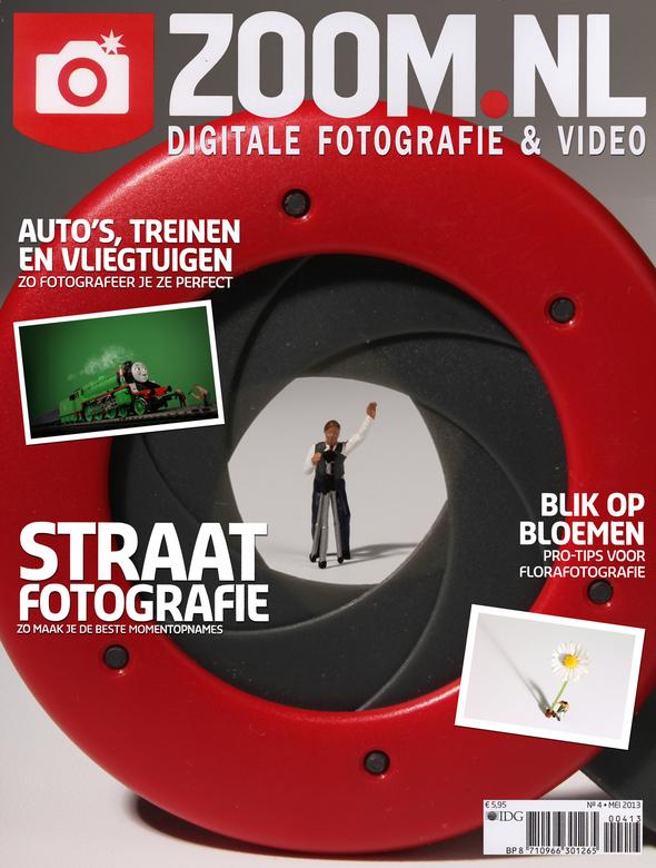 i've got it covered - Op de cover van Zoom.nl-magazine. Niet echt, maar een beetje wishful thinking...