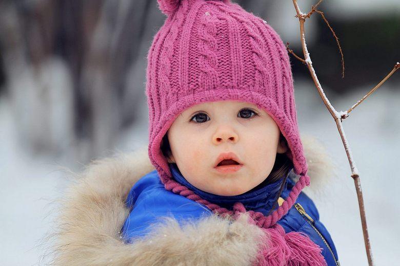 Klein mutsje - Mijn allereerste foto van mijn dochter met de Canon 70-200mm f/2.8
