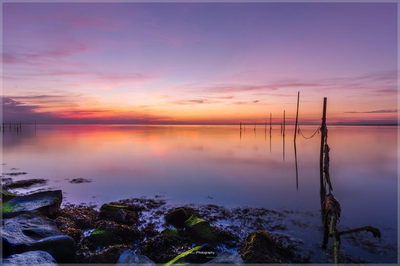Sundown - Avond aan zee de gok genomen om er heen te rijden Ik had wat in mijn hoofd en dan het geluk dat het nog beter uit komt dan ik verwacht. Dan