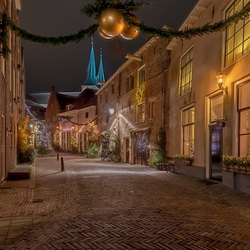 Deventer in Kerstsfeer..