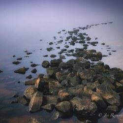 Misty IJsselmeer