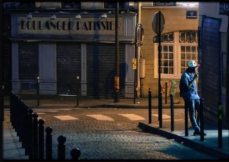 Parijs bij avond -
