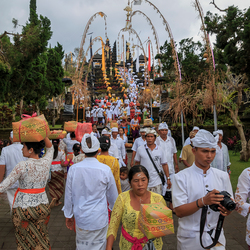 Pura Besakih tempel op bali