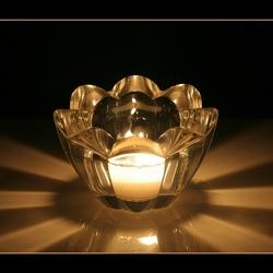 Kaarslicht - reflecties