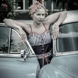 Portretfotografie jaren 50 Look ..