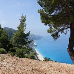 Egremni beach, Lefkas, Gr