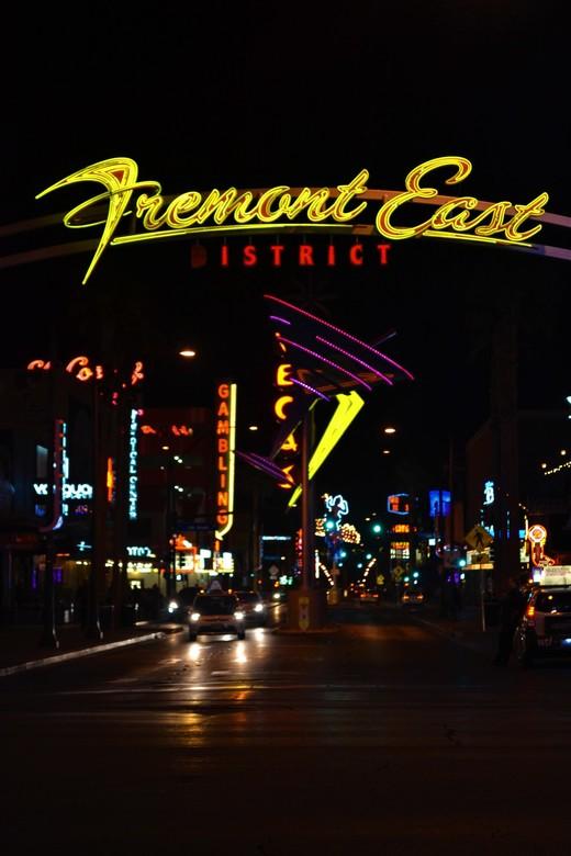 Old Vegas - Fremont East District -