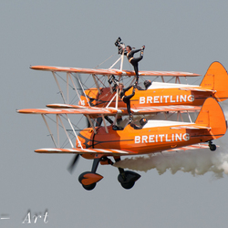 Wings Wheels and Goggles vliegveld Teuge