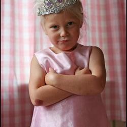 Boos prinsesje...