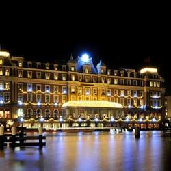 Amsterdam bij nacht Amstel hotel