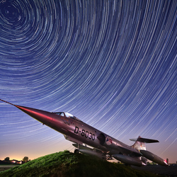Star trails vs Star Fighter