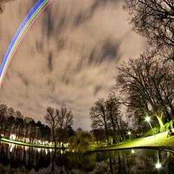 Sol Lumen - Lasers boven Utrecht