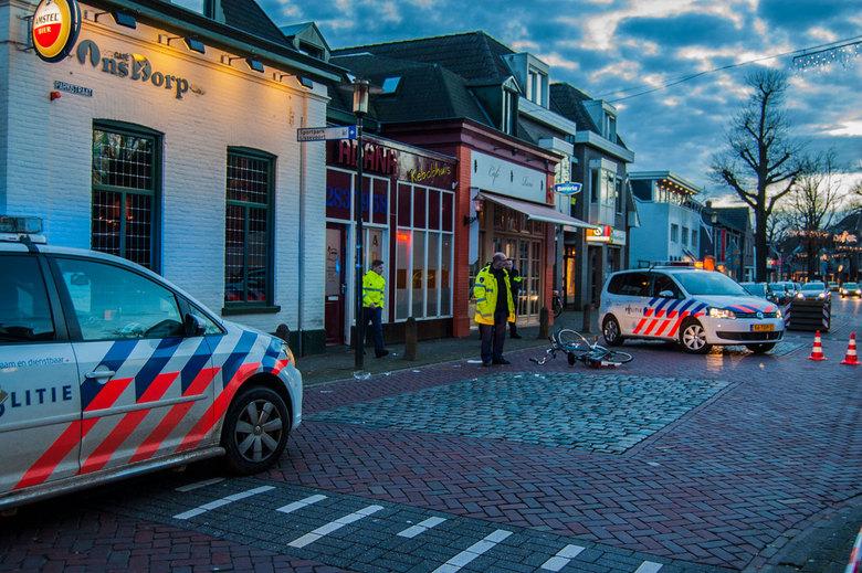 Fietser aangereden op de Parktstraat Nuenen