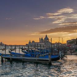 Venice_canal grande sunset