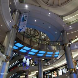 Roltrappen winkelcentrum Bangkok