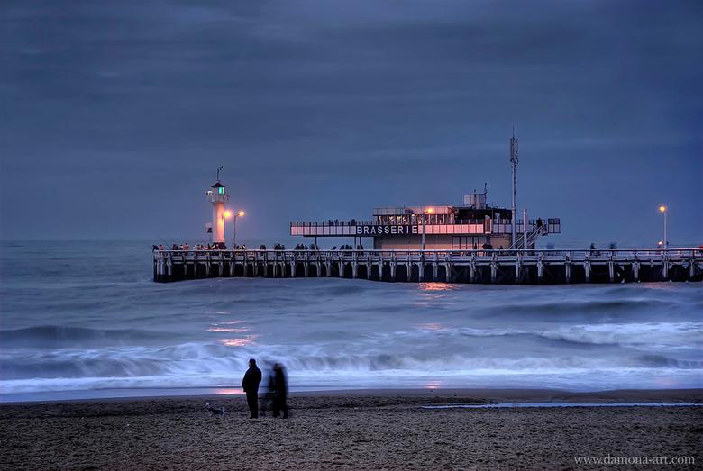 The Pier - Heb je de pier al eens zo mooi gezien in Oostende? Ik moest en zou er een foto van nemen. Gelukkig heb ik dat gedaan, want de brasserie is