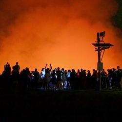 vulkaan Santiago, Masaya, Nicaragua
