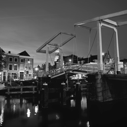 Spaarne Bridge BW