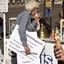 demonstrant lust ook wel een ijsje