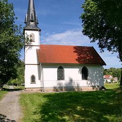Het kerkje in  Elend