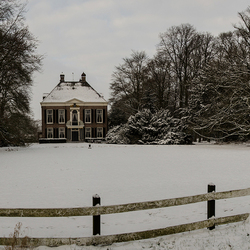Snow house panorama