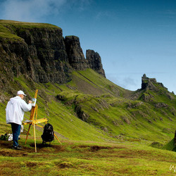 Painting the Quiraing