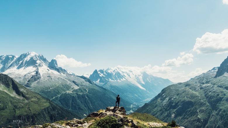 Never let a view untouched - Prachtig avontuur in de Alpen. 10 dagen op de Tour du Mont-Blanc, slapen in kleine tentjes te midden van de geweldige nat