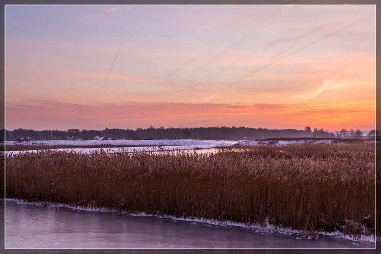 De laatste winterse ochtend - winterse ochtend